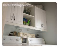Laundry Room Cabinets by Laundry Room Makeover The Diy Village
