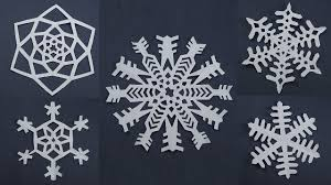 10 awesome paper snowflake patterns for decorations easy