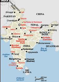 Bhopal India Map by India Kriya