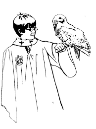 49 coloring pages lineart harry potter images