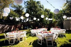party decoration rentals trendy outdoor party ideas images table and chair rentals for