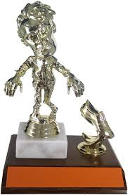 schoppy u0027s zombies trophies and awards medals and plaques