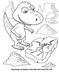 coloring pages dinosaur train coloring