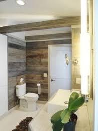 Barn Board Bathroom Barn Board Walls For 1 Wall In Basement Bath Basement