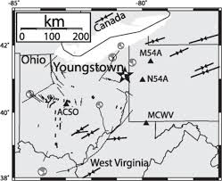 Youngstown Ohio Map by Regional Detection And Monitoring Of Injection Induced Seismicity