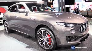 maserati car interior 2017 2017 maserati levante suv exterior and interior walkaround