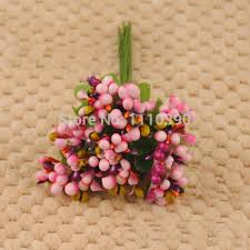fruit flower bouquets 2cm decorative artificial fruit flowers bouquets with leaves pip