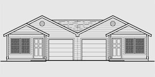 corner house plans one level duplex house plans corner lot narrow town townhouse in