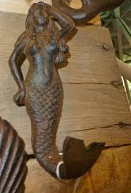 Mermaid Garden Decor Coastal Decor Sitting Mermaid Garden Statue 24