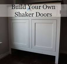 Kitchen Cabinet Doors Diy by Diy Tutorial How To Build Simple Shaker Style Cabinet Doors New