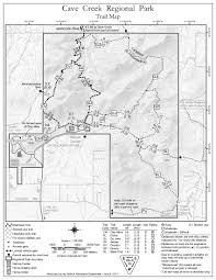 Terminus Cave Map Quartz Trail Ccrp U2022 Hiking U2022 Arizona