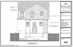2nd floor addition plans arlington ma addition design plan renovation and design