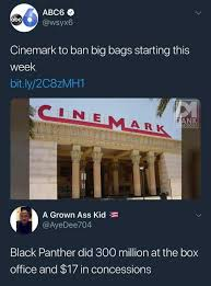 Black Box Meme - dopl3r com memes 9 wsyx6 6 cinemark to ban big bags starting