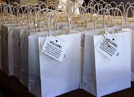 welcome baskets for wedding guests wedding welcome bags best 25 wedding welcome bags ideas on