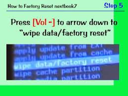 nextbook next7p how to factory reset android nextbook7 forgot passcode