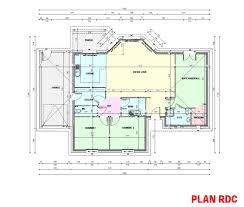 plan maison contemporaine plain pied 4 chambres plan maison plain pied 3 chambres avec suite parentale