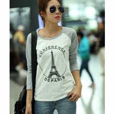 eiffel tower sweatshirts for girls fashion paris design sweatshirt