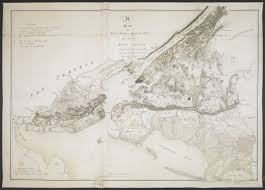 Long Island New York Map by A Map Of New York U0026 Staten Islds And Part Of Long Island