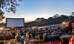Outdoor Cinema Botanical Gardens Summer Outdoor Cinemas