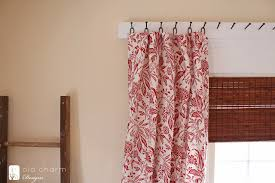 Curtains Without Rods Remodelaholic 25 Creative Diy Curtain Rod Tutorials