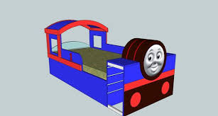Thomas Train Table Plans Free by Thomas Train Bed 10 Steps With Pictures