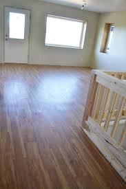 finishing the vinyl plank flooring ana white woodworking projects