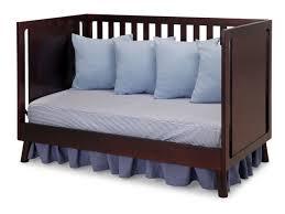 Convertible Crib Mattress Size by Delta Children Manhattan 3 In 1 Convertible Crib U0026 Reviews Wayfair