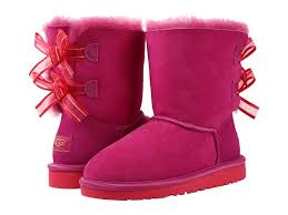 s boots pink ugg australia pink bailey bow bloom boots style 1009329k