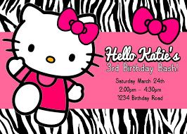 hello kitty birthday invitations dhavalthakur com