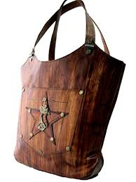 Handmade Leather Tote Bag - handmade leather tote bag cat and pattern handmade