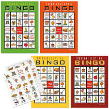 thanksgiving bingo current catalog