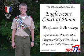 Eagle Scout Invitation Cards Eagle Scout Quotes Like Success