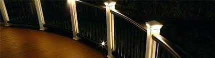 solar powered deck post lights beautiful solar powered deck post lights or solar lighting for deck