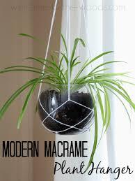 diymyspring decor modern macrame plant hanger hometalk