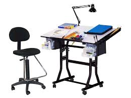 Creation Station Studio Desk Amazon Com Martin Creation Station Art Hobby Table And Chair Set