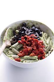 pasta salad pesto pesto pasta salad simple vegan blog