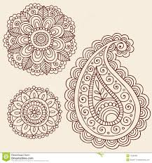 henna tattoo flower designs henna mehndi paisley flower doodle