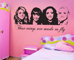 little mix wall sticker children s bedroom vinyl zoom