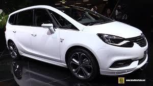 lexus turbo benziner 2017 opel zafira 1 4 turbo 140hp exterior and interior