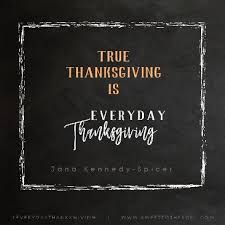 sweet to the soul ministries everyday thanksgiving