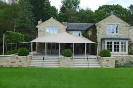 Patio Canopies And Awnings by Garden Canopy Soak Up The Sun Beneath A Luxury Glass Canopy This