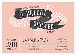 custom bridal shower invitations bridal shower invites mailed for you postable