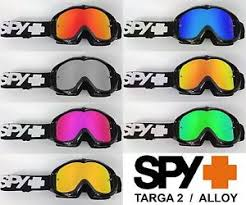 motocross goggles ebay goggle shop replacement mirror lens for spy targa 2 alloy