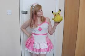 pokemon nurse joy halloween costume the frankie edition