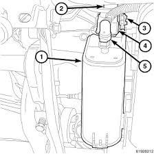 dodge durango fuel filter i a 2007 dodge durango recently the check engine light came