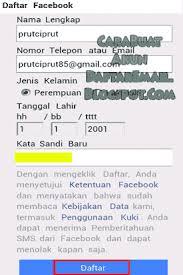 cara membuat yahoo mail di blackberry cara buat akun facebook di hp android dan daftar fb baru dengan