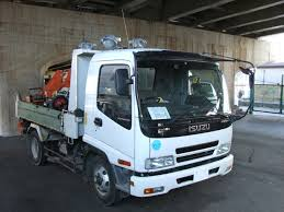 file isuzu forward dump truck white color jpg wikimedia commons