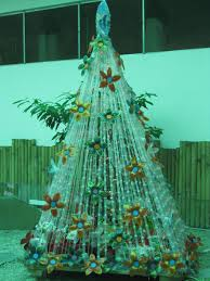 panabo city s tree made from recycled items green