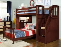 Bunk Beds With Stairs Bedroom Amusing Berg Furniture Utica Twin Dorm Loft Bed With