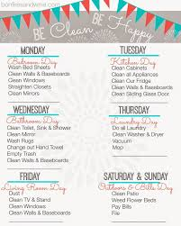 cleaning ideas weekly cleaning schedule best 25 weekly cleaning schedules ideas